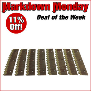 K0781810 Accelerator Paddle Set of 8 Markdown Monday Aug3