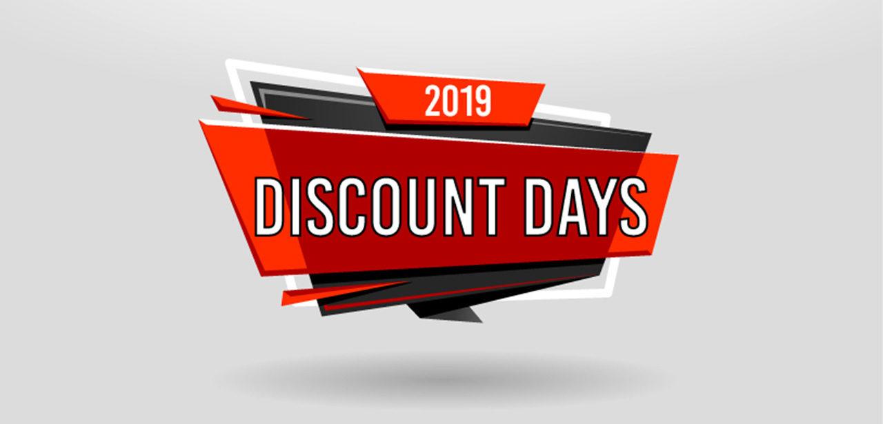 Discount Days 2019 website 1280
