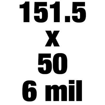 151 5x50 6mil