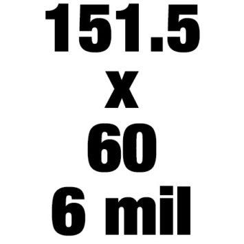 151 5x60 6mil