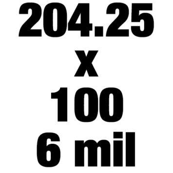 204 25x100 6mil