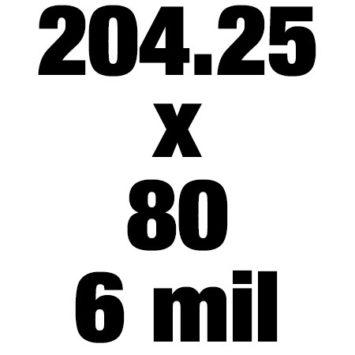 204 25x80 6mil