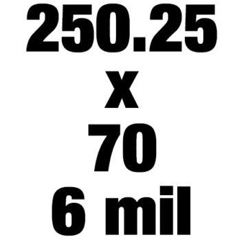 250 25x70 6mil