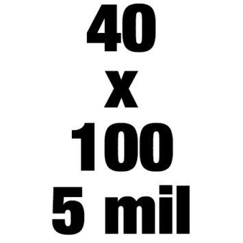 40x100 5mil