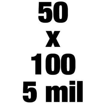 50x100 5mil