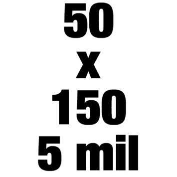 50x150 5mil