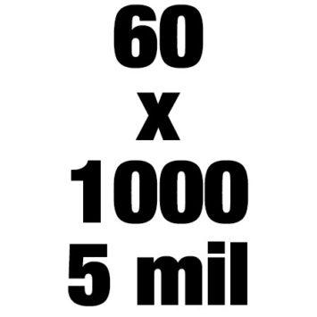 60x1000 5mil