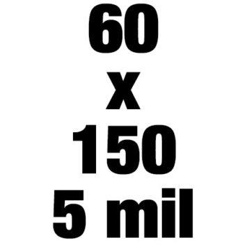 60x150 5mil