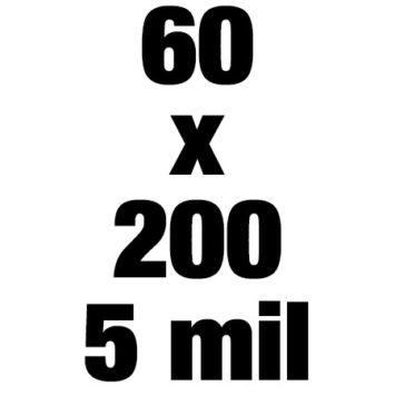 60x200 5mil