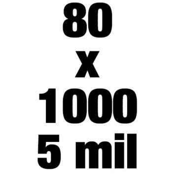 80x1000 5mil