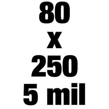 80x250 5mil