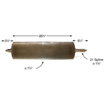 K240 DC Dual Cut KP Roll