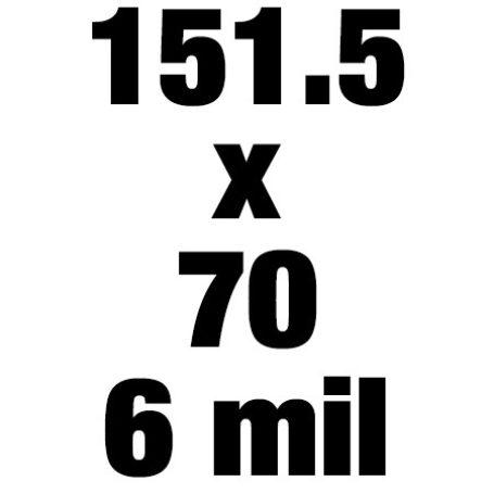 151 5x70 6mil