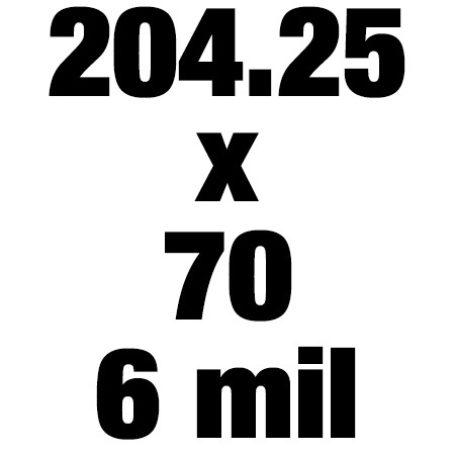 204 25x70 6mil