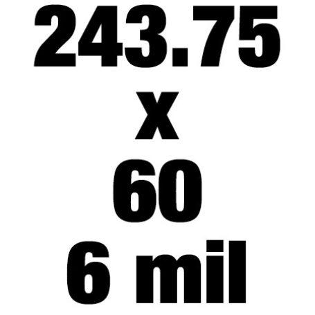 243 75x60 6mil