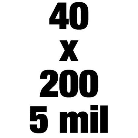 40x200 5mil