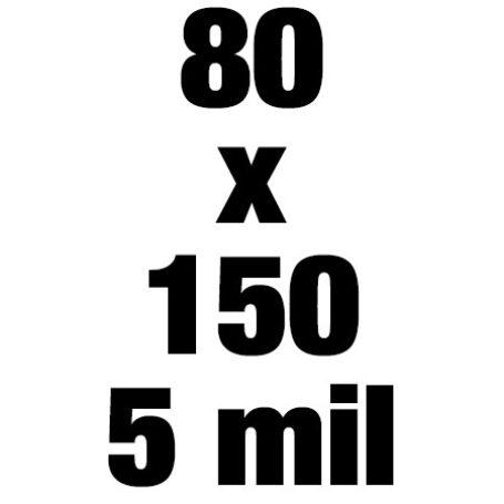 80x150 5mil