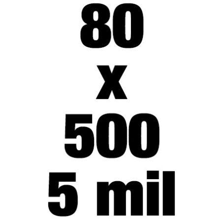 80x500 5mil