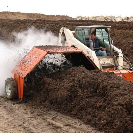 CT0800 Kooima Skid Compost Turner 2