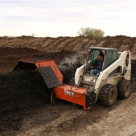 CT0800 Kooima Skid Compost Turner 3