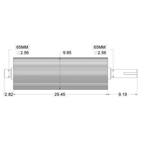 FR84481096 F S Kernel Processor Roll Measurements
