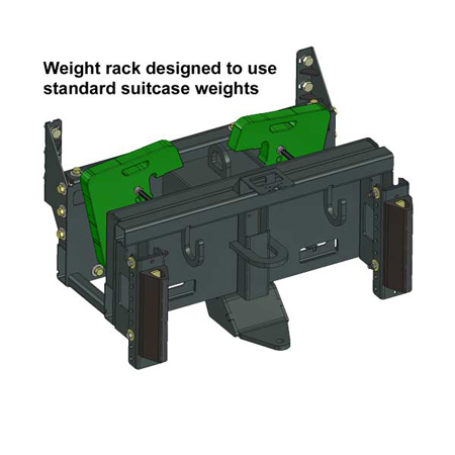 K125061 Bumper with Suitcase Weights
