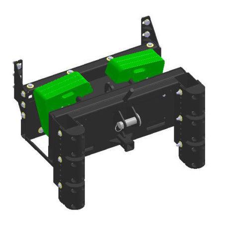 K125061 Cutter Bumper with Weight Bracket 2