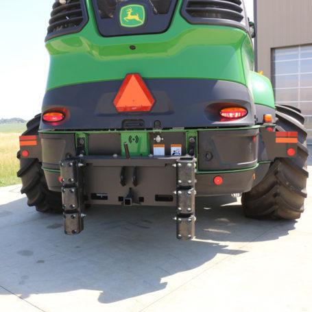 K125072 Cutter Bumper No Weight Bracket 1