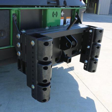 K125072 Cutter Bumper No Weight Bracket 6