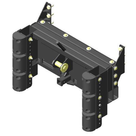 K125072 Cutter Bumper No Weight Bracket