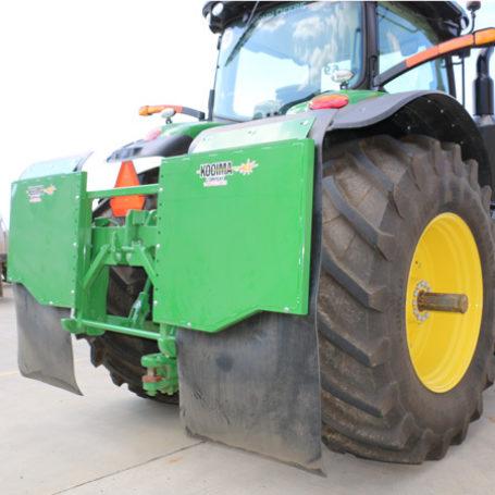 KMFS Single Tire Mud Flap 4