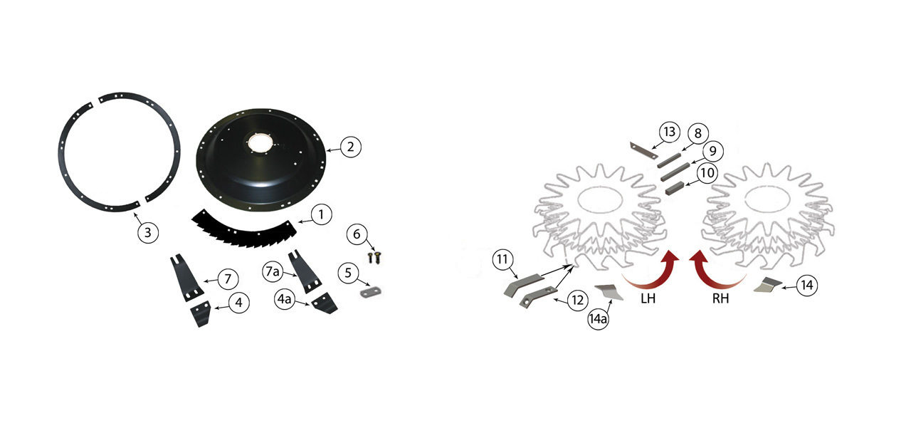 330 684 Small Drum Rotary Heads