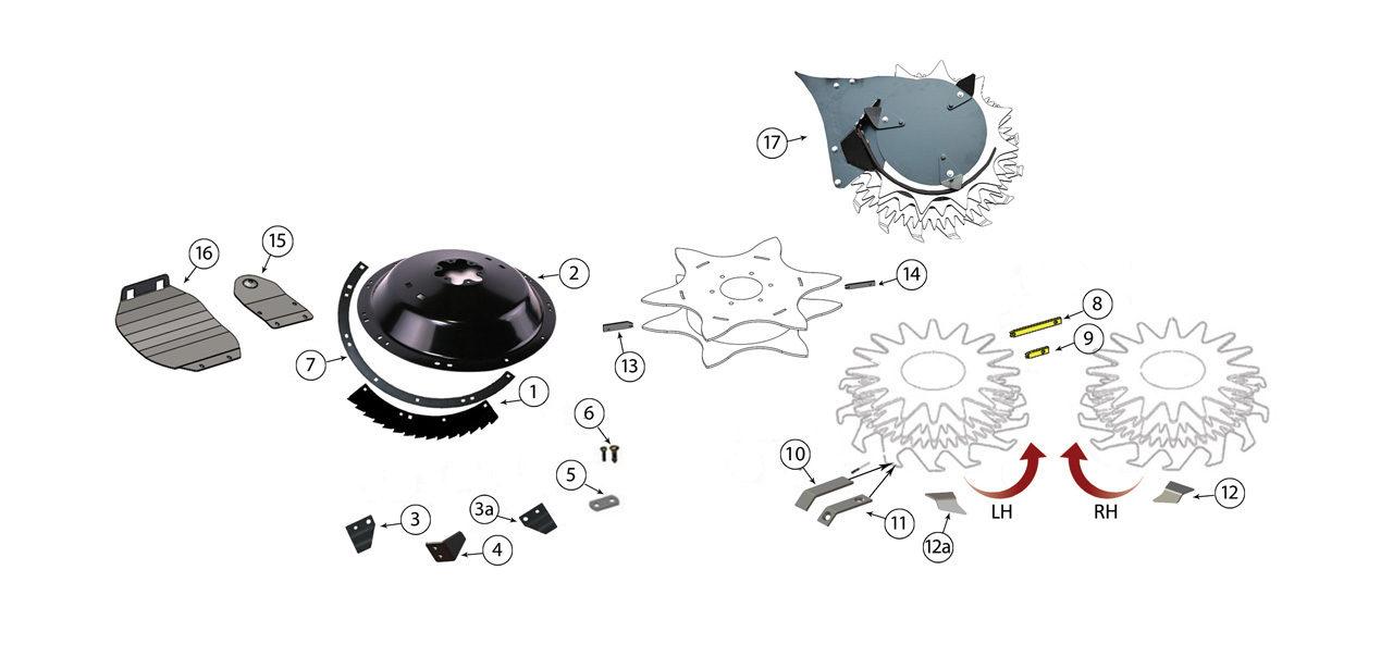 360plus 375plus 390 690 692 Small Drum Rotary Heads 2
