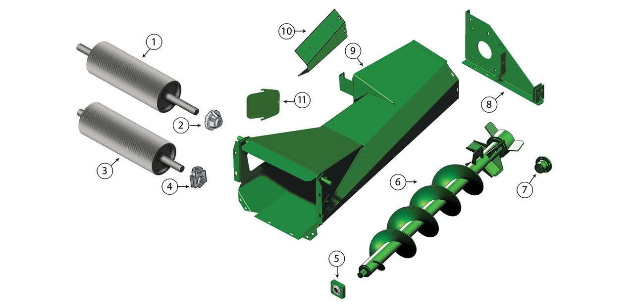 5200-5400-5420-5440-5460-5720-5730-5820-5830-Kernel-Processor-Auger-Assembly