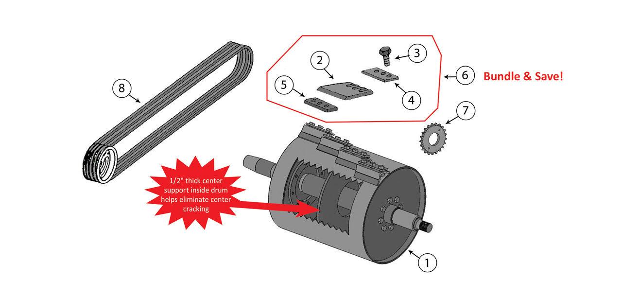 5200-5400-5420-Cutterhead-Assembly