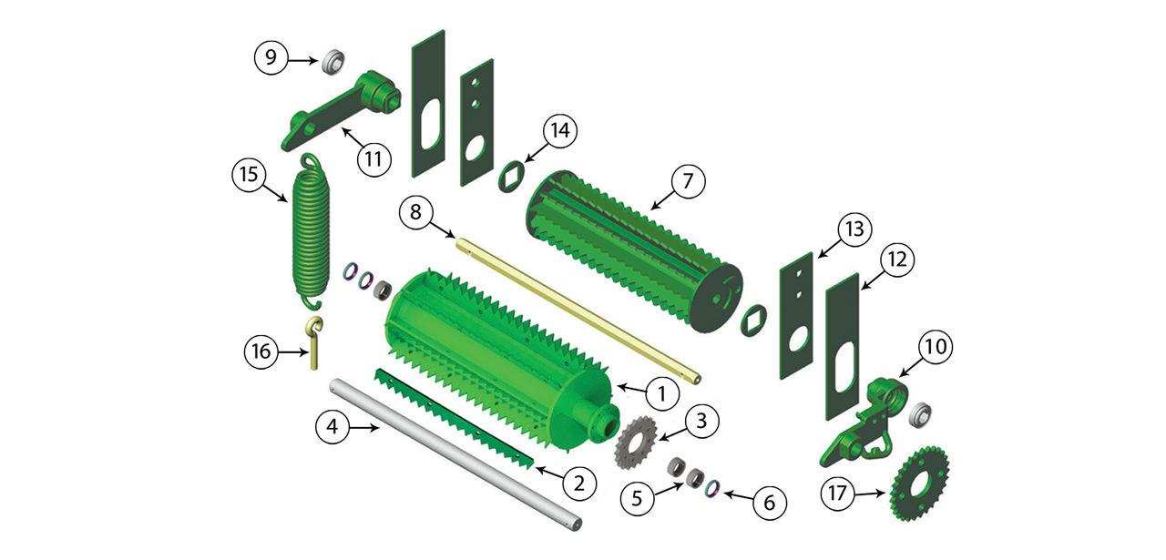 5200-5400-5440-5460-5720-5730-5820-5830-Upper-Feedroll-Assembly