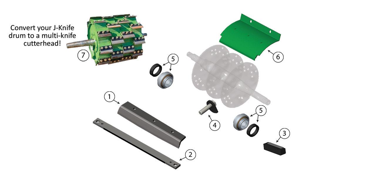 5200-5400-5440-5460-J-Knife-Cutterhead-Assembly