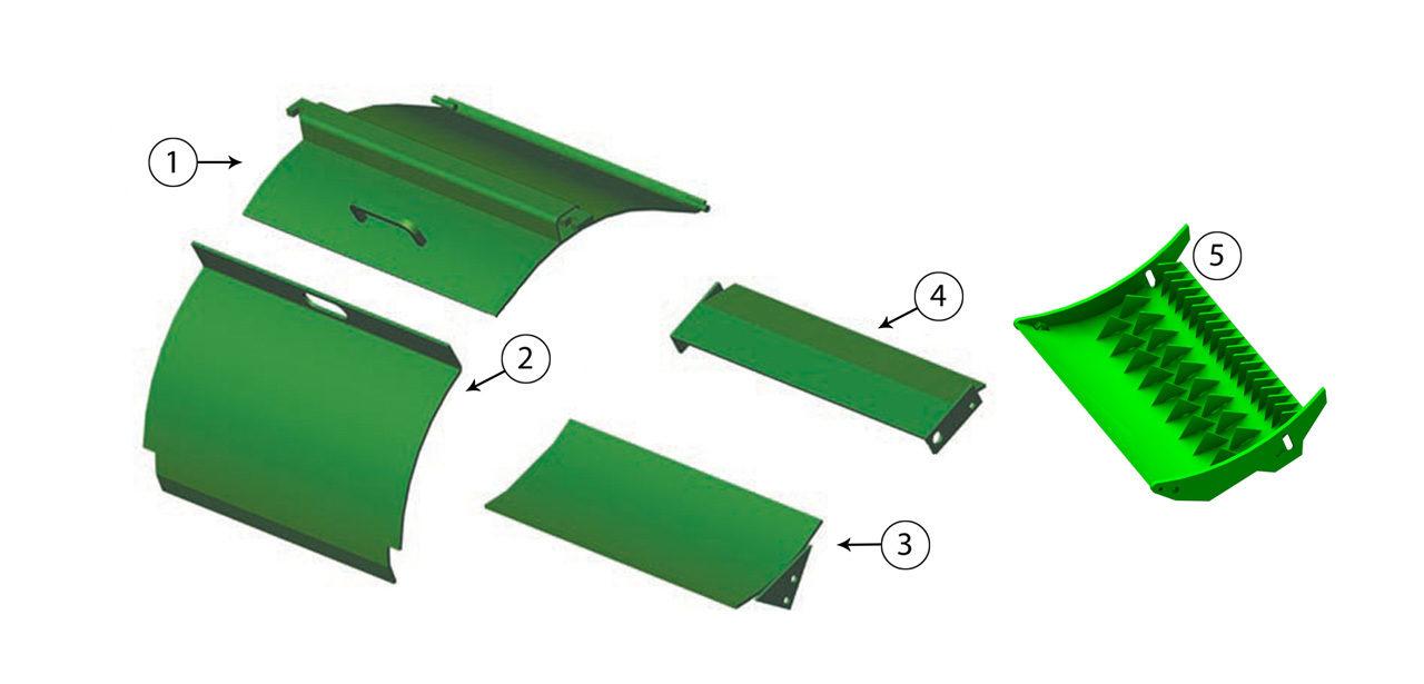 5440-5460-5720-5730-5820-5830-Cutterhead-Door-Assembly
