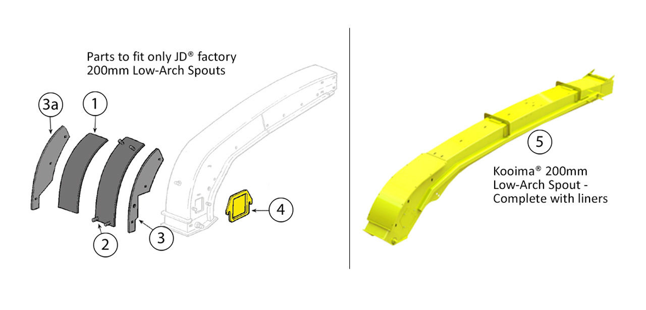 6610-6650-6710-6750-6810-6850-6910-6950-Low-Arch-200mm-Spout-Assembly