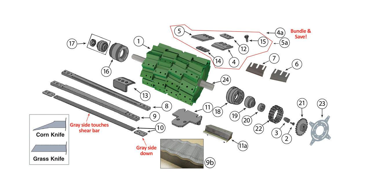 6650-6750-6850-6950-Cutterhead-Assembly