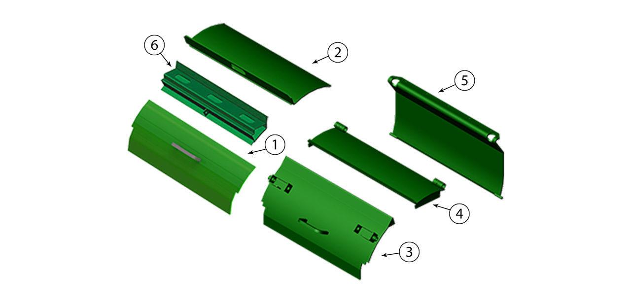 6650-6750-6850-6950-Cutterhead-Door-Assembly