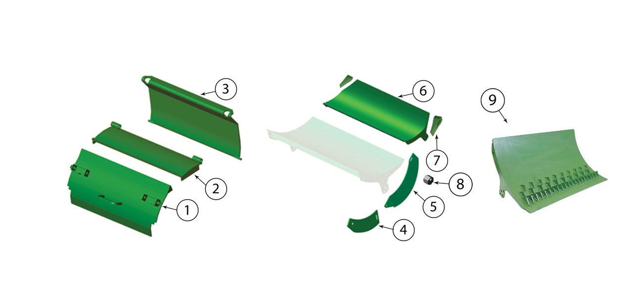 7180-7250-7280-7350-7380-7450-7480-7550-7580-Cutterhead-Door-Assembly