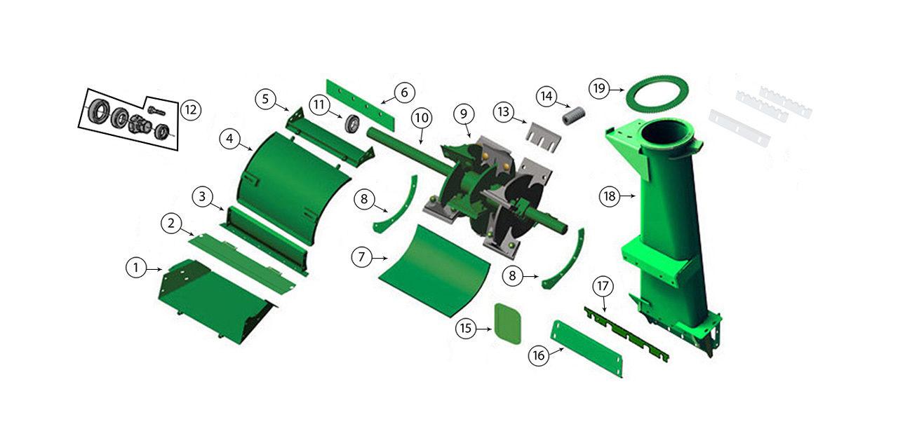 7200-7300-7400-7500-Blower-Assembly-Spout-Transition