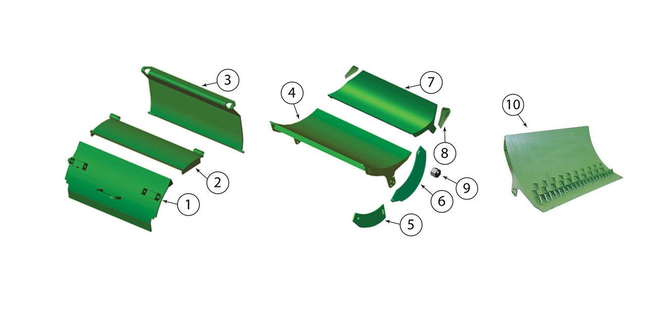 7200-7300-7400-7500-Cutterhead-Door-Assembly