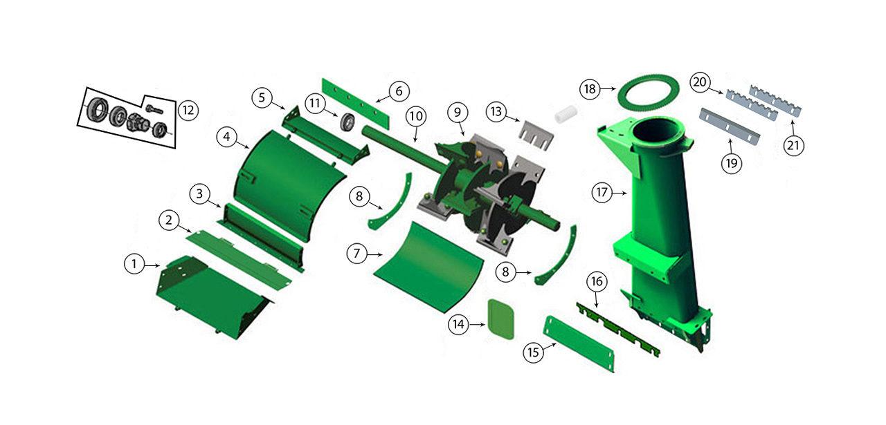 7250-7350-7450-7550-Blower-Assembly-Spout-Transition