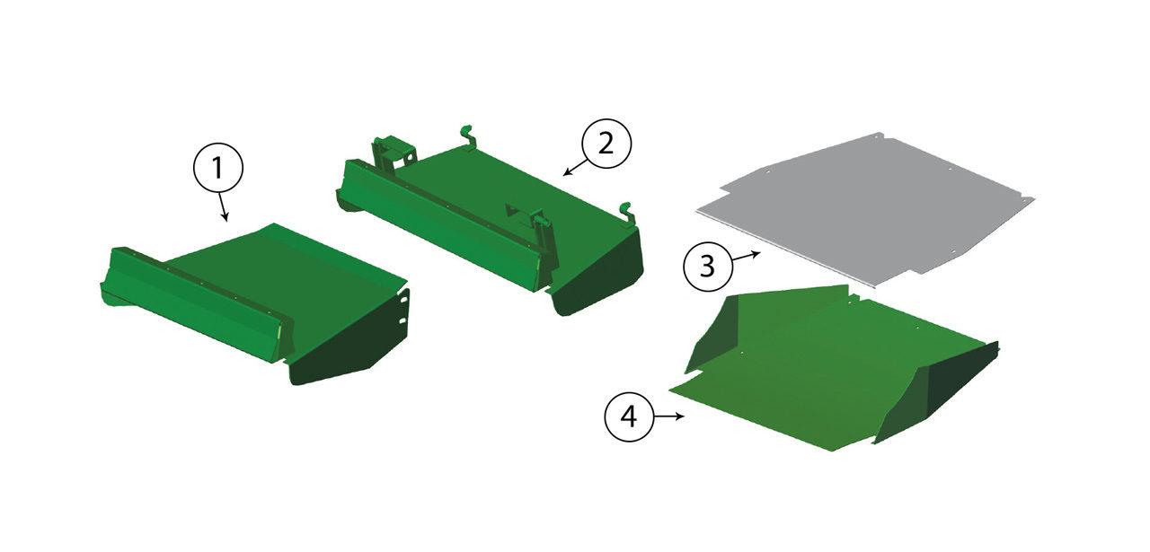 7700-7750-7780-7800-7850-7950-7980-Grass-Chute-Assembly