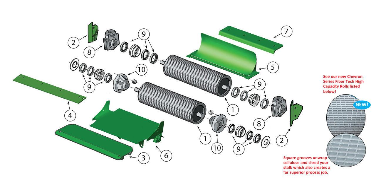 7700-7750-7780-7800-7850-7950-7980-Kernal-Processor-Roll-Assembly
