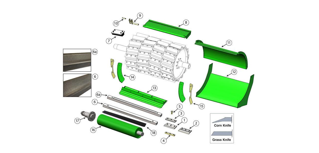 8100-8200-8300-8400-8500-Cutterhead-Assembly
