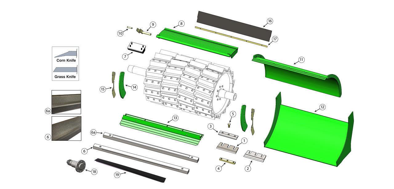 8600Wide-8800-Cutterhead-Assembly