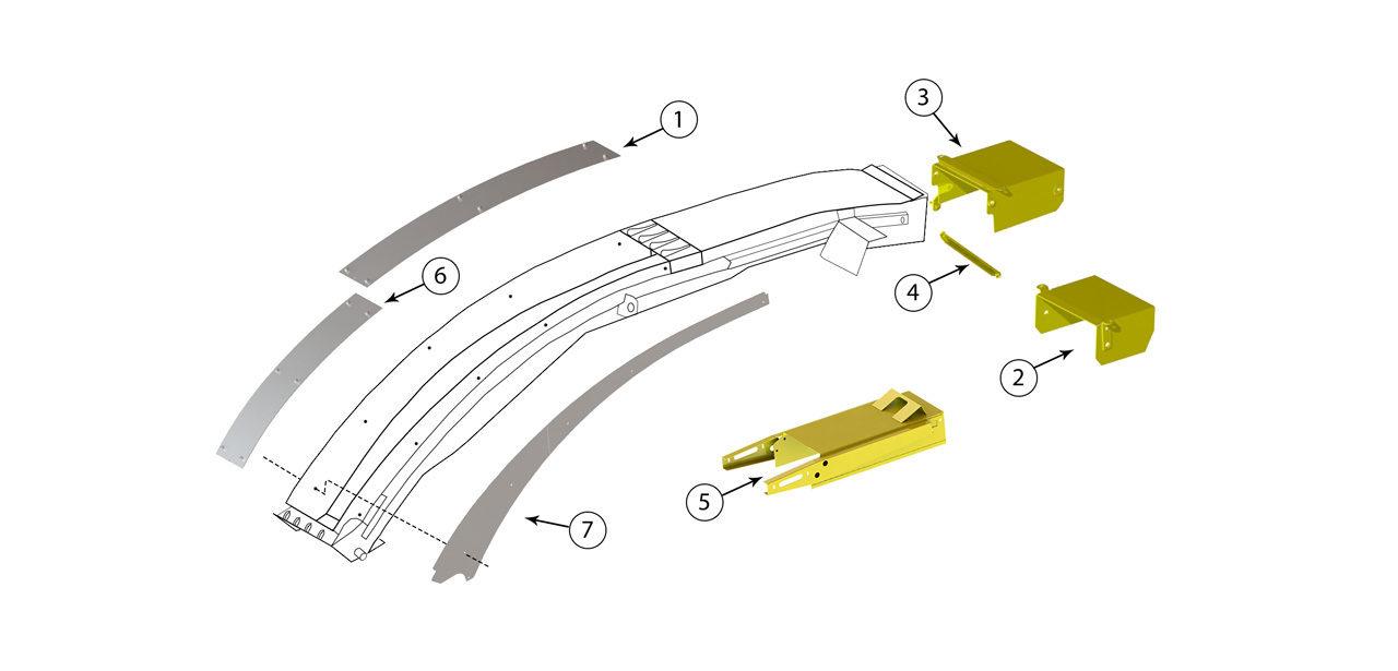 FR 9000 Spout Assembly